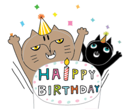 Oh my cats!-Celebration & Greetings sticker #6060216
