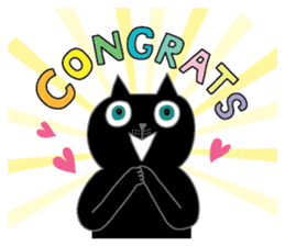 Oh my cats!-Celebration & Greetings sticker #6060217