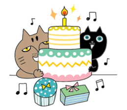 Oh my cats!-Celebration & Greetings sticker #6060218