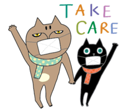 Oh my cats!-Celebration & Greetings sticker #6060228