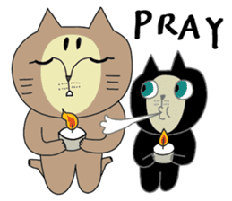 Oh my cats!-Celebration & Greetings sticker #6060234