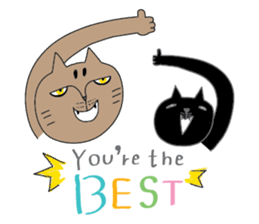 Oh my cats!-Celebration & Greetings sticker #6060238