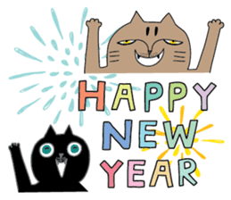 Oh my cats!-Celebration & Greetings sticker #6060254
