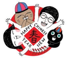 Oh my cats!-Celebration & Greetings sticker #6060255