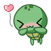 Turtle baby sticker #6065460