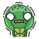 Turtle baby sticker #6065467