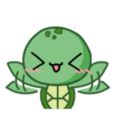 Turtle baby sticker #6065494
