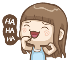 Misa's daily life 3~English sticker #6066554