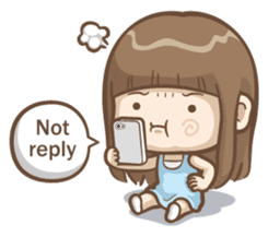 Misa's daily life 3~English sticker #6066557