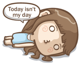 Misa's daily life 3~English sticker #6066559