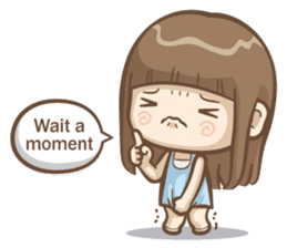 Misa's daily life 3~English sticker #6066560