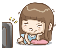Misa's daily life 3~English sticker #6066563