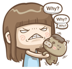 Misa's daily life 3~English sticker #6066564