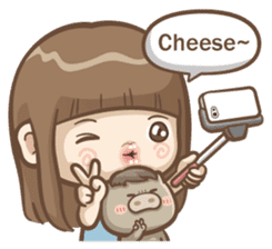 Misa's daily life 3~English sticker #6066567