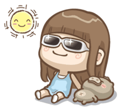 Misa's daily life 3~English sticker #6066568