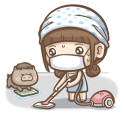 Misa's daily life 3~English sticker #6066570