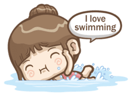 Misa's daily life 3~English sticker #6066572