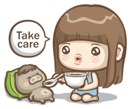 Misa's daily life 3~English sticker #6066573
