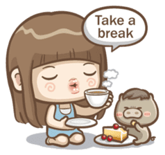 Misa's daily life 3~English sticker #6066574