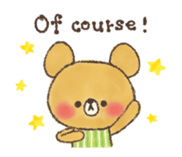 charming bear's sticker sticker #6067060