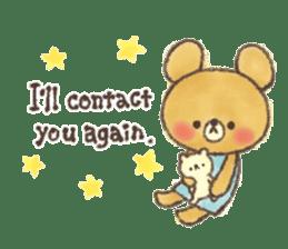charming bear's sticker sticker #6067062