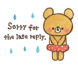 charming bear's sticker sticker #6067064