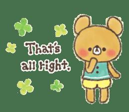 charming bear's sticker sticker #6067065
