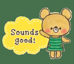charming bear's sticker sticker #6067066