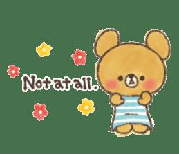 charming bear's sticker sticker #6067067