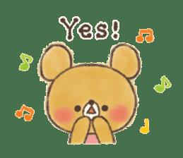 charming bear's sticker sticker #6067069