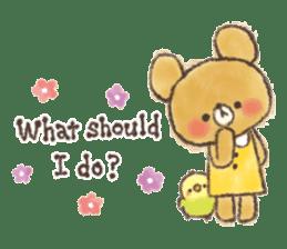 charming bear's sticker sticker #6067072