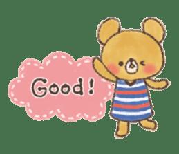 charming bear's sticker sticker #6067073