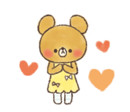 charming bear's sticker sticker #6067075