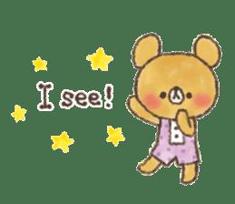 charming bear's sticker sticker #6067077
