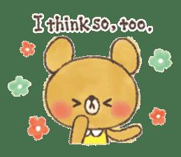 charming bear's sticker sticker #6067078