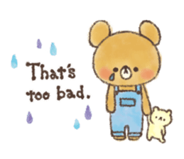 charming bear's sticker sticker #6067079