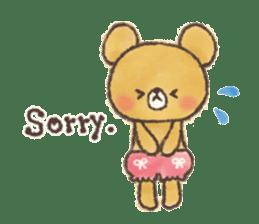 charming bear's sticker sticker #6067080