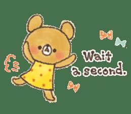 charming bear's sticker sticker #6067081