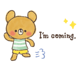 charming bear's sticker sticker #6067082