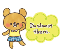 charming bear's sticker sticker #6067083