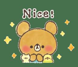 charming bear's sticker sticker #6067085