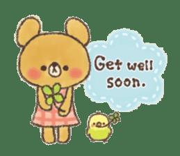 charming bear's sticker sticker #6067088