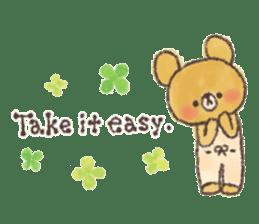 charming bear's sticker sticker #6067089