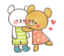 charming bear's sticker sticker #6067094