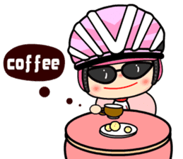 Happy Weekend Bike sticker #6067575