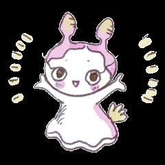 "The little Sea girl ""Umiushi-chan"""