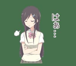 Schoolgirl, such as the Queen sticker #6079762