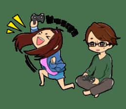 Shawn & Tasha sticker #6081517