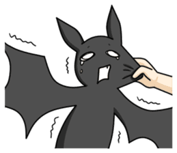 Black Bat and White Bat sticker #6088709