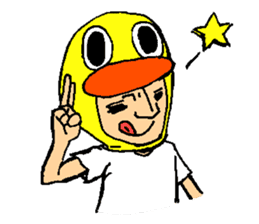 STARDUCK TONY!! sticker #6091002